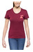 POLER Summit Tee Women sweet berry wine